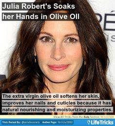 julia roberts olive oil