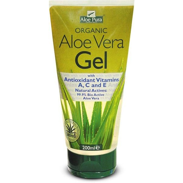 Aloe Pura Aloe Vera Gel with Antioxidant Vitamins A, C, E 200ml