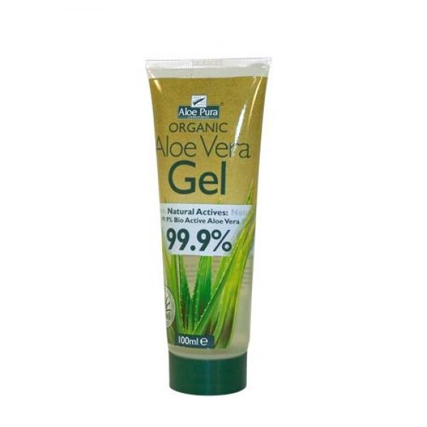 Aloe Pura Organic 99.9% Aloe Vera Gel 100 ml