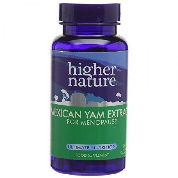Higher Nature Mexican Yam Extract 30cap