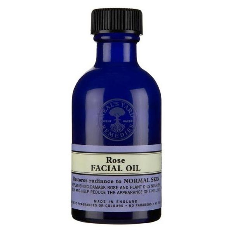Facial rose oil