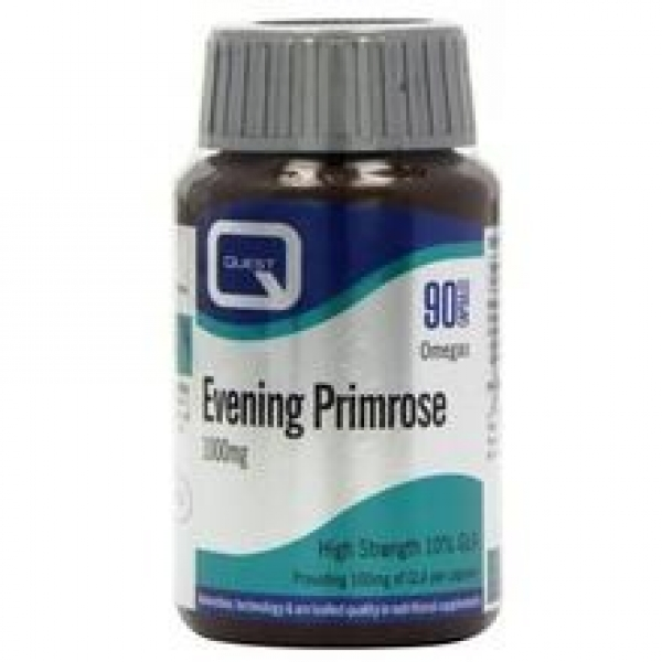 Quest Evening Primrose Oil, 1000mg, 90Caps