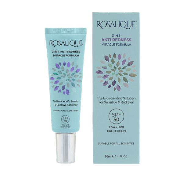 Rosaliques 3 in 1 Anti-Redness Miracle Formula