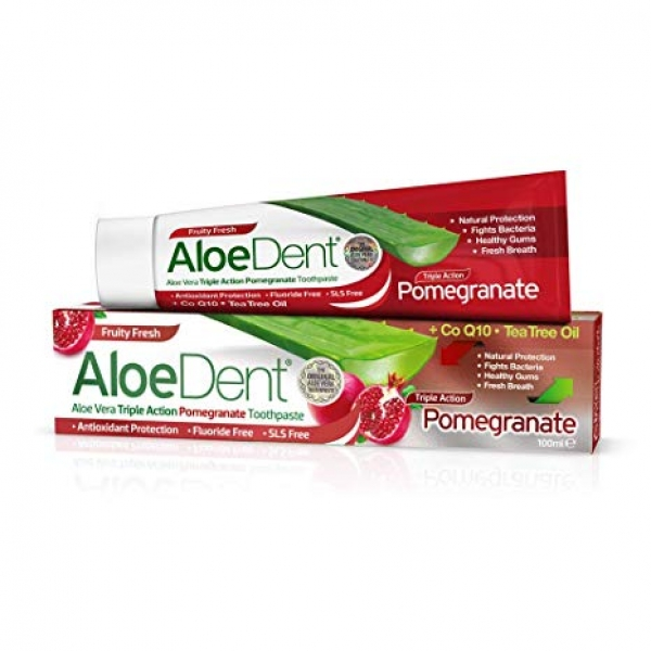 Aloe Dent Pomegranate Toothpaste