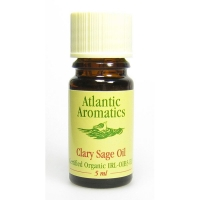 Atlantic Aromatics Clary Sage Oil Organic 5ml