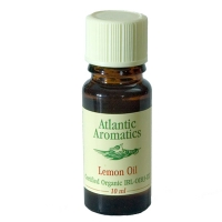 Atlantic Aromatics Lemon Oil Organic 10ml