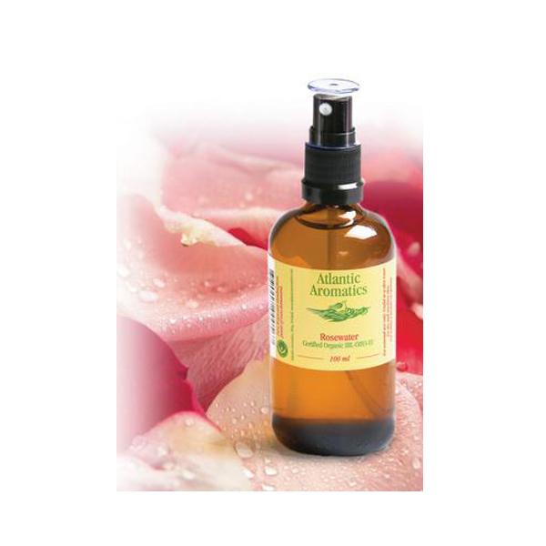 Atlantic Aromatics Organic Rose Water 100ml