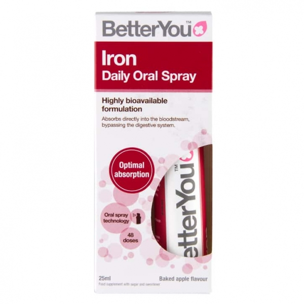 Better You Iron Daily Oral Spray exp July 21