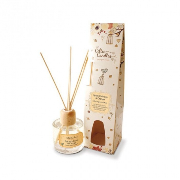 Celtic Candle Scented Diffuser Spiced Mimosa And Orange