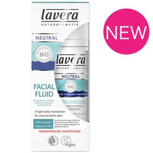 Lavera Neutral Facial Fluid - Sensitive Skin
