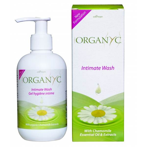 Organyc Intimate Wash - 250ml