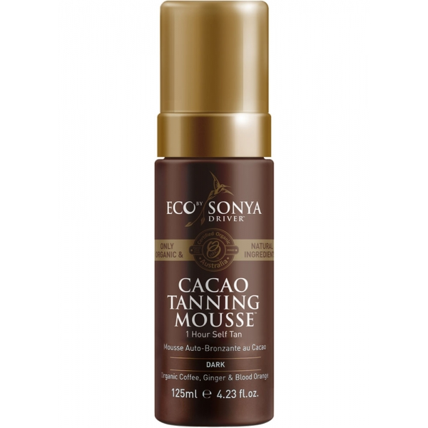Eco by Sonya Cacao Tanning Moose, Dark - 125ml